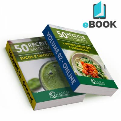 E-book Olson  - 2 Volumes - 100 Receitas